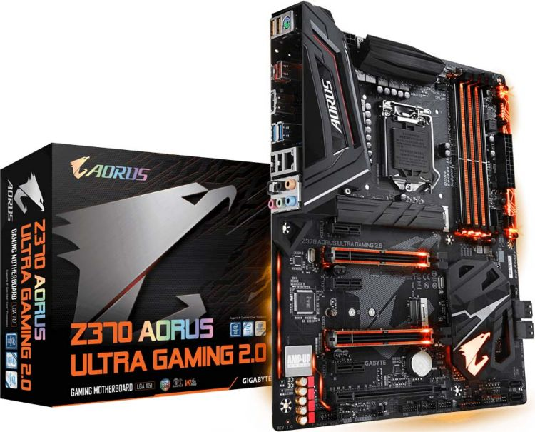 GIGABYTE Z370 AORUS Ultra Gaming R2.0