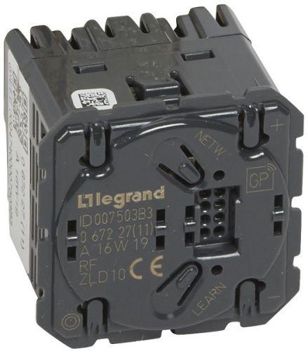 Светорегулятор Legrand 67227 Celiane Радио ZigBee, 300W без нейтрали