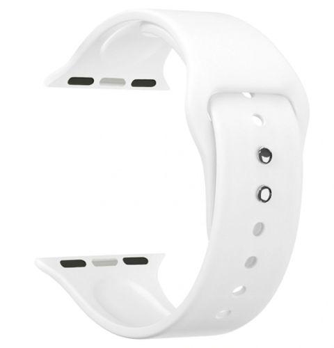 Ремешок на руку Lyambda ALTAIR DS-APS08-44-WT силиконовый для Apple Watch 42/44 mm white аксессуар ремешок innovation для apple watch 42 44 white 15009