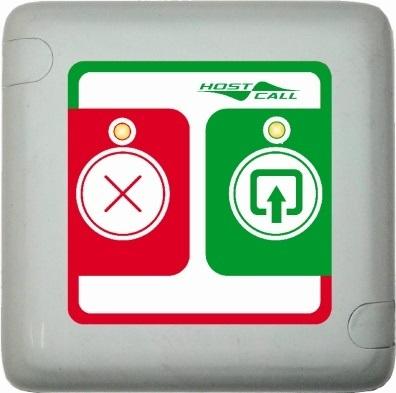Кнопка HostCall MP-421D1 вызова Не входить/Входите для системы вызова посетителей в кабинет