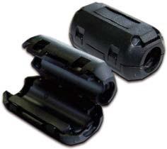 Фильтр Lanmaster LAN-FF-0.75-BK ферритовый на шнур питания 3х0.75 мм2 с защелкой, черный
