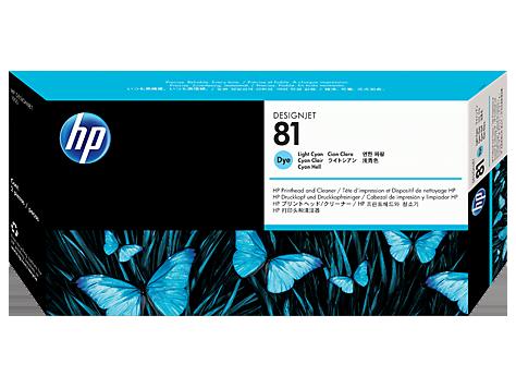 Картридж HP C4954A № 81 Печатающая головка светло-голубая для принтеров HP DJ 5000 серии