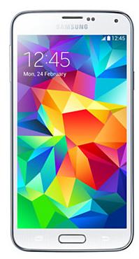Samsung SM-G900F Galaxy S5 16Gb White