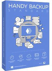 Право на использование (электронный ключ) Новософт Handy Backup Standard 8 (только для домашнего использования).