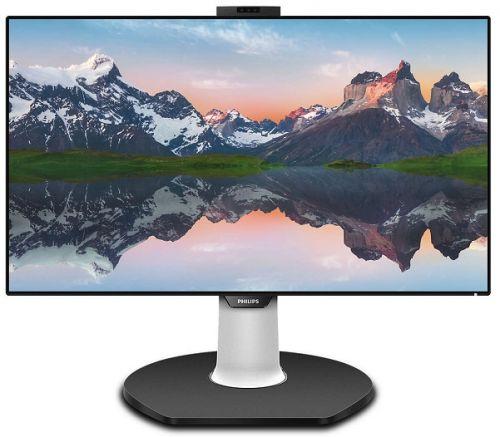 Монитор 31,5 Philips 329P9H (00/01) 3840x2160, 5 мс, 350 кд/м2, 50000000:1, 178°/178°, IPS, HDMI 2.0x2/DP1.2/USB (видео)/SPK/веб-камера/HAS/Pivot монитор 28 philips 288p6ljeb 00 01 3840x2160 1 мс 300 кд м2 50000000 1 170° 160° dvi d hdmi displayport vga usb 4 mhl spk has pivot