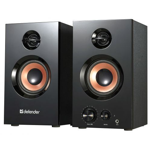 Компьютерная акустика 2.0 Defender Aurora S20 65419 20 Вт, 20-20000 Гц, black
