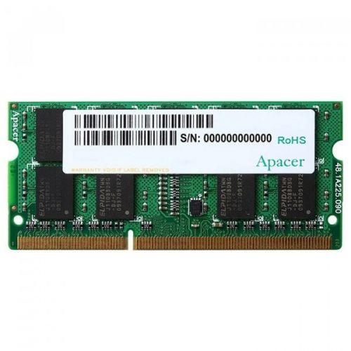 Фото - Модуль памяти SODIMM DDR3 4GB Apacer DV.04G2K.KAM PC3-12800 1600MHz CL11 1.35V RTL модуль памяти qumo 4gb ddr3 1600mhz sodimm 204pin cl11 qum3s 4g1600c11