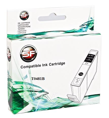 Картридж SuperFine SF-T0481B для Epson Stylus Photo R200/R300/R320/R340/RX500/RX600/RX620 black