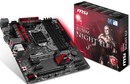 MSI B150M NIGHT ELF