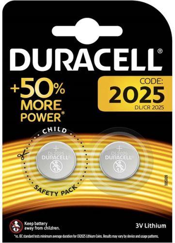 Батарейка Duracell CR2025 2 шт