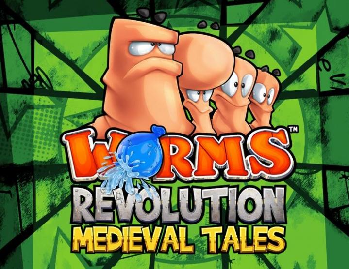 Team 17 Worms Revolution Medieval Tales DLC