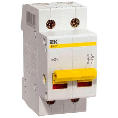 IEK - Выключатель нагрузки IEK MNV10-2-063