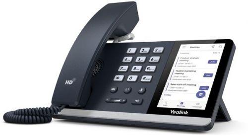 Телефон SIP Yealink SIP-T55A-TEAMS Teams, Цветной сенсорный экран, GigE, без видео, без БП