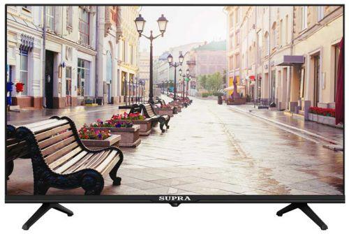 Телевизор Supra STV-LC32ST00100W черный/HD READY/50Hz/DVB-T/DVB-T2/DVB-C/USB/WiFi/Smart TV