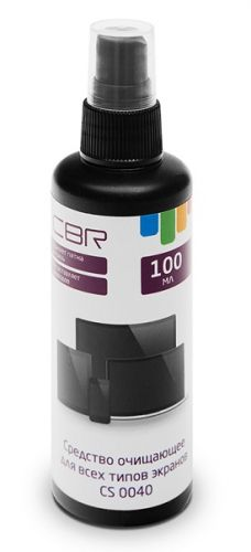 Спрей CBR CS 0040 для всех типов экранов (спрей), 100 мл, флакон