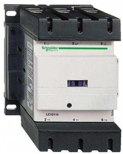Контактор Schneider Electric LC1D150M7 3Р 380В, 150А, 3НО сил.конт. 1НО+1НЗ доп.конт. катушка 220В АС