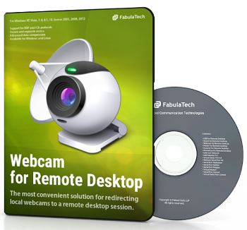 FabulaTech Webcam for Remote Desktop 10 User sessions 2-10 Licenses