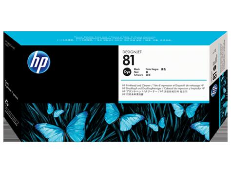 Картридж HP C4950A № 81 Печатающая головка черная для принтеров HP DJ 5000 серии