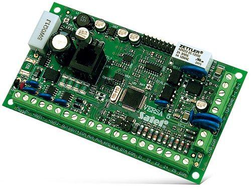 Комплект SATEL VERSA-5 KIT-BL (VERSA 5 - ПКП, VERSA-LCD-BL - ЖКИ клавиатура, VERSA-5 OBU - металлический корпус c трансформатором TR-20 VA)