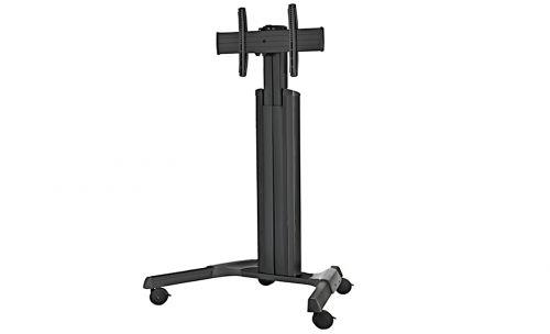 Стойка мобильная Chief MPAU для панелей 30-55 весом до 55 кг, регулировка по высоте мобильная стойка для панелей и телевизоров fix m50 black