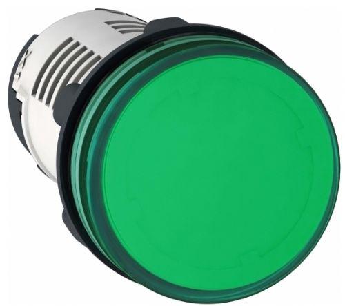 Лампа Schneider Electric XB7EV03MP сигнальная зелёная светодиодная 230В