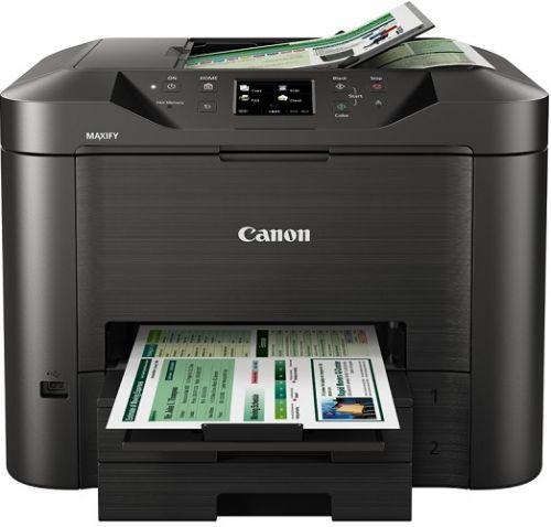 МФУ Canon MAXIFY MB2740 0958C007 A4, принтер, сканер, копир, факс, DADF, Wi-Fi