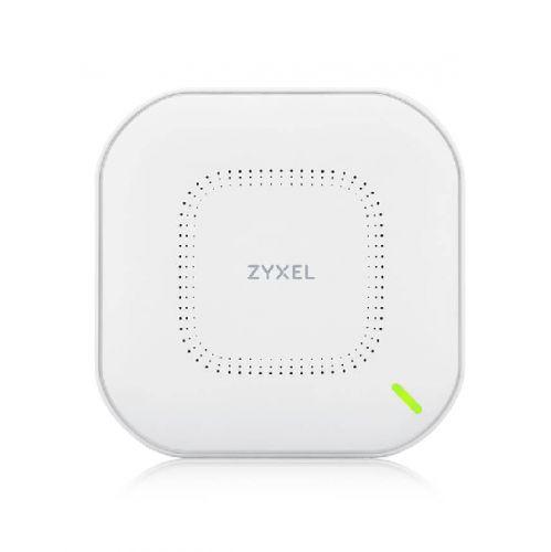 Комплект ZYXEL NebulaFlex NWA210AX, NWA210AX-EU0103F 3*гибридных точек доступа, WiFi 6, 802.11a/b/g/n/ac/ax (2,4 и 5 ГГц), MU-MIMO, антенны 4x4, до 57