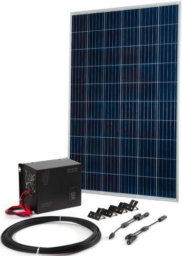 Комплект Бастион Teplocom Solar-800 + Солнечная панель 250Вт 250Вт, кабель 10 м MC4 коннекторы