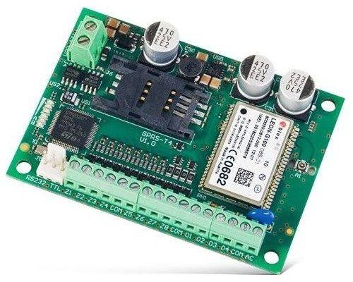 Модуль SATEL GPRS-T4 BO для осуществления мониторинга GPRS и SMS от любого ПКП или другого устройства, БЕЗ КОРПУСА. Дополнительной функцией является у