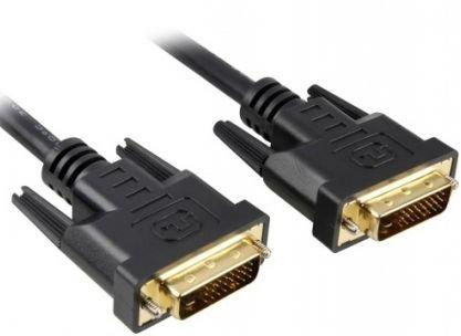 Кабель DVI Exegate EX-CC-DVI2-5.0 EX257296RUS dual link, 25M/25M, 5м, позолоченные контакты кабель vcom dvi dvi dual link 25m 25m 3m 2 фильтра позолоченные контакты