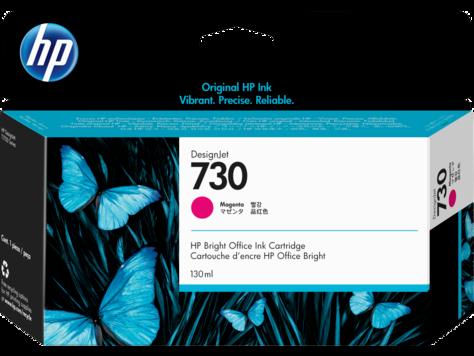 Картридж HP 730 P2V63A для DesignJet T1700, 130 мл, пурпурный