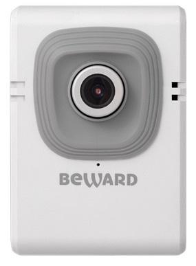 Фото - Видеокамера IP Beward B12CW 1 Мп, 1/4'' КМОП, 3.6 мм, 0.3 лк, Н.264, 1280x720 25 к/с,Wi-Fi 802.11 b/g/n, WPS, ИК-фильтр, DWDR, 2D/3DNR/SmartNR, 5В wi fi камера beward beward bd43cw 16 mm