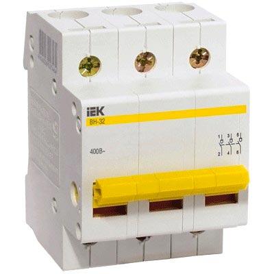 IEK - Выключатель нагрузки IEK MNV10-3-063