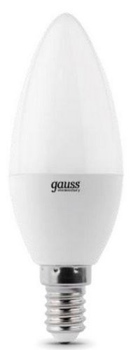 Лампа светодиодная Gauss 33126 LED Elementary Candle 6W E14 4100K 1/10/100 лампа светодиодная gauss 33128 led elementary candle 8w e14 4100k 1 10 100
