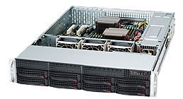 Supermicro Корпус серверный 2U Supermicro CSE-825TQC-600LPB