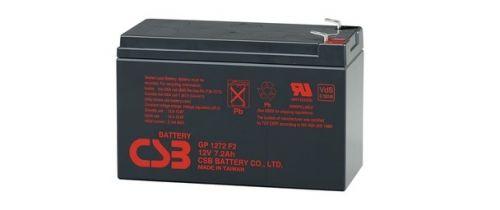 Батарея CSB GP 1272 (F2) 12В, 7.2Ач, 151х65х100мм, клемма F2