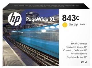 Фото - Картридж HP 843C C1Q68A с желтыми чернилами 400 мл для PageWide XL 5000/4x000 картридж hp 843c c1q68a с желтыми чернилами 400 мл для pagewide xl 5000 4x000
