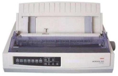 Фото - Принтер матричный OKI ML3321-ECO-EURO 1308301 9-ти игольчатый, 136 колонок, скорость печати до 435 зн./сек., USB принтер цветной светодиодный oki pro9431dn multi 45530407