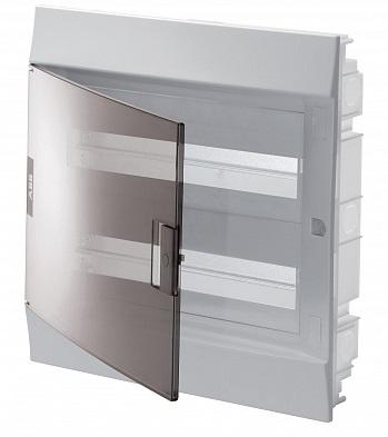 Бокс ABB 1SLM004101A2206 Mistral41 в нишу 36М прозрачная дверь 2 ряда (c клемм)