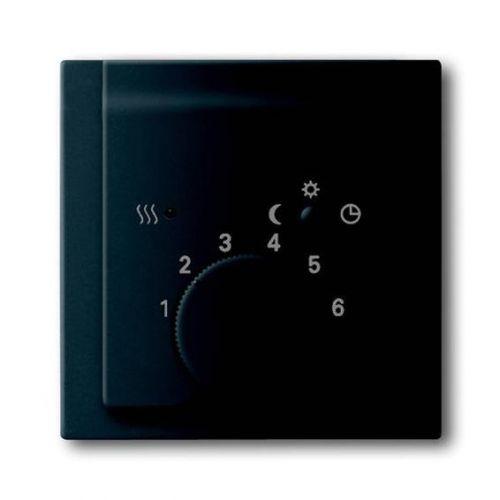 Накладка ABB 2CKA001710A3919 регулятора тёплого пола (мех 1095 U, 1096 U) черный бархат
