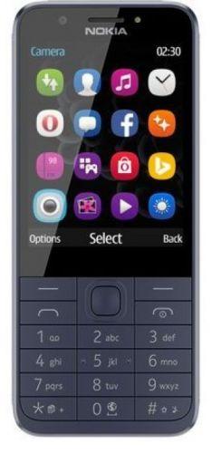 Мобильный телефон Nokia 230 Dual Sim 16PCML01A02 blue