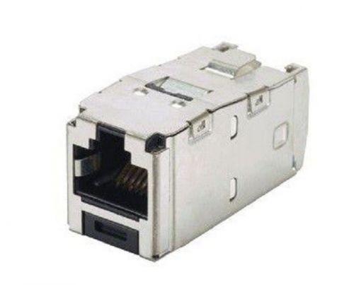 Модуль Panduit CJS6X88TGY информационный Mini-ComRJ45 кат.6A FTP
