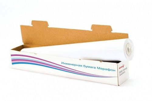 Бумага широкоформатная Xerox 450L90243M инженерная бумага Марафон 75 г/м2. ( 0.914x150) м