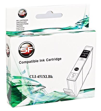 Картридж SuperFine SF-CLI451XLBk для Canon PIXMA iP7240/MG6340 Black SuperFine