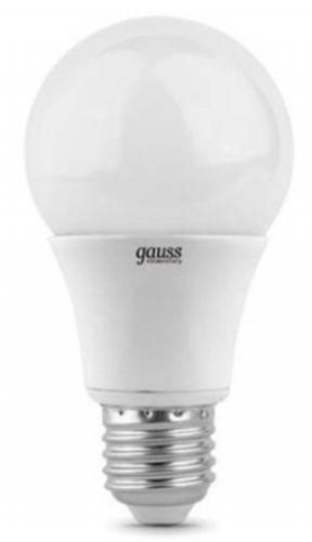 Фото - Лампа светодиодная Gauss 23220 LED Elementary A60 10W E27 4100K 1/10/50 лампа светодиодная gauss 102502210 s led a60 10w e27 4100k step dimmable 1 10 50
