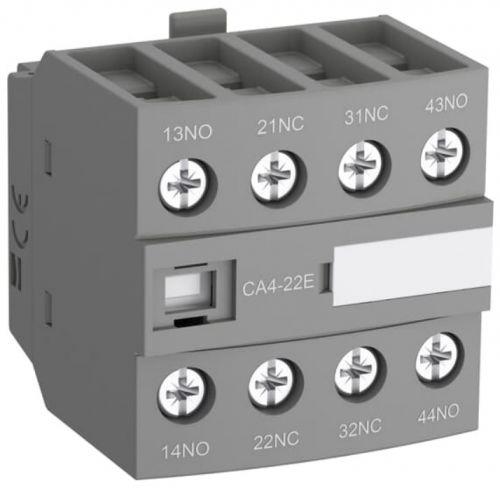 Блок ABB 1SBN010140R1022 контактный дополнительный (2НО+2НЗ) для контакторов AF09…AF38 CA4-22E