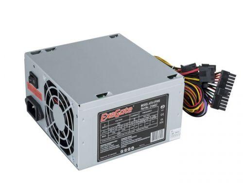 Фото - Блок питания ATX Exegate CP500 EX219457RUS-PC 500W, PC, 8cm fan, 24p+4p, 3*SATA, 2*IDE, FDD + кабель 220V в комплекте выключатель сенсорный с контактным проводом 220v 500w pm218ws 220v