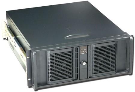 Procase Корпус серверный 4U Procase EB400L-B-0 черный, без блока питания, глубина 656мм, MB EATX(305х330 мм)