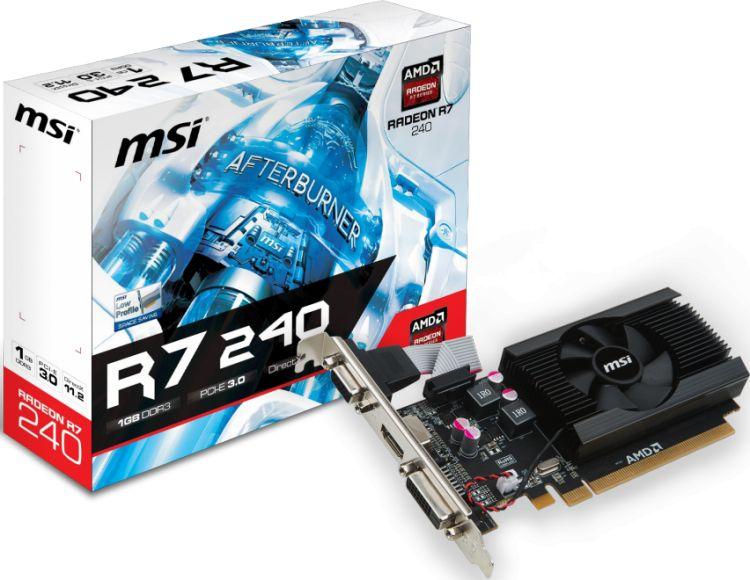 MSI Radeon R7 240