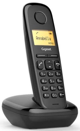 Телефон DECT Gigaset A270 SYS RUS S30852-H2812-S301 черный АОН